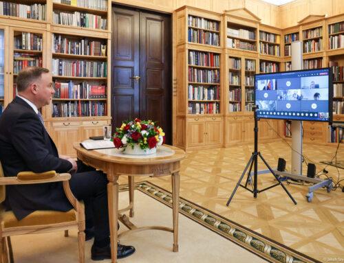 Nadzwyczajne spotkanie Rady Organizacji z Prezydentem RP