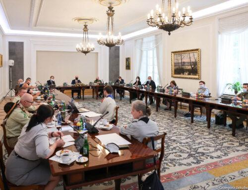 Posiedzenie Rady Organizacji Harcerskich
